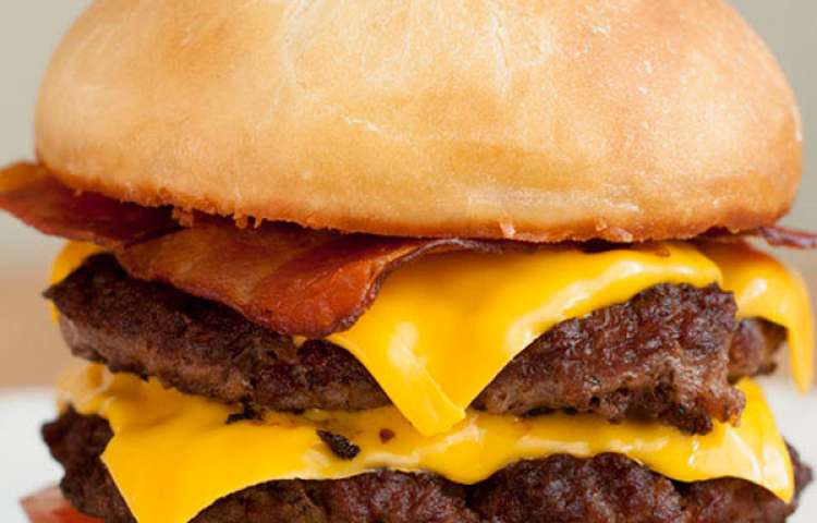 SuperSONIC Bacon Double Cheeseburger