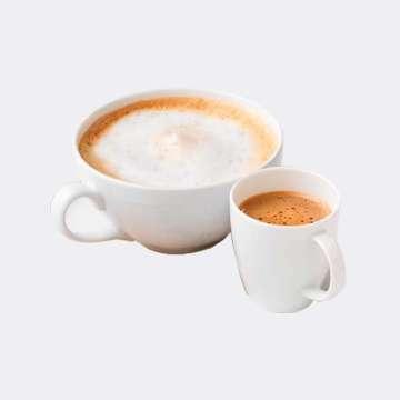 Au Bon Pain Caffe Latte