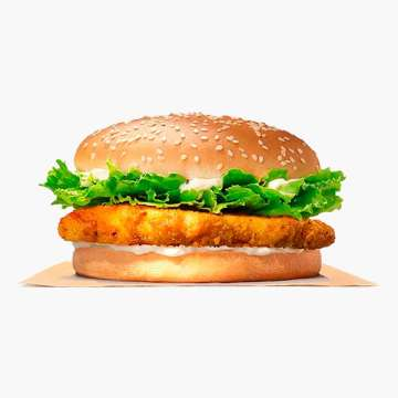 Burger King Crispy Chicken Jr.
