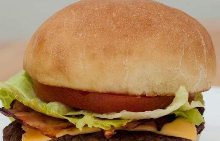 Wendy's Junior Bacon Cheeseburger