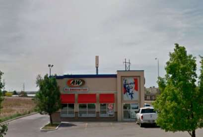 A&W Restaurant, 100 N Carbonville Rd