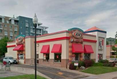 A&W Restaurant, 555 E 400 S