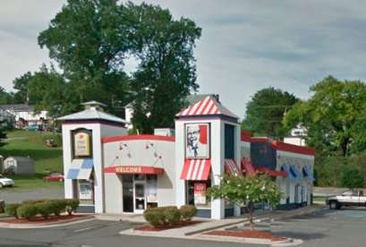 KFC, 320 N Madison Rd