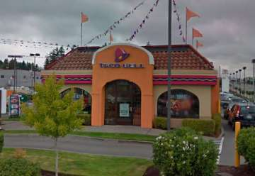 Taco Bell hours - 15059 1st Ave S Burien' WA 98148' map