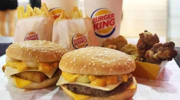 Burger King menus