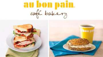 Au Bon Pain menus