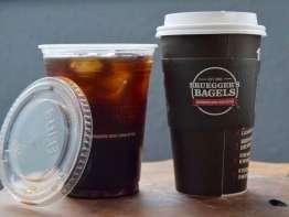 Bruegger's coffee