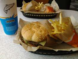 Burgerville sandwich