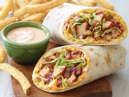 Chicken Fajita Rollup
