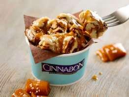 Cinnabon Salted Caramel Center of the Roll