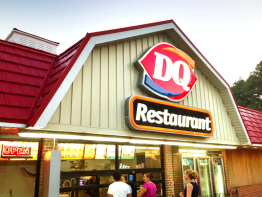 Dairy Queen Restaurant in USA