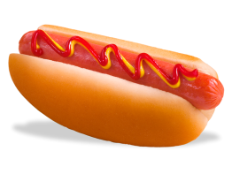 Dairy Queen hot dog