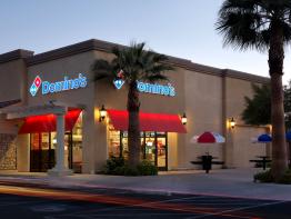 Domino's Pizza Restaurant in USA