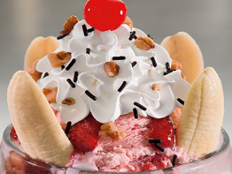 Friendly's Dessert Jim Dandy