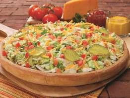 Godfather's Pizza pizza