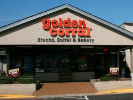 Golden Corral shop in USA
