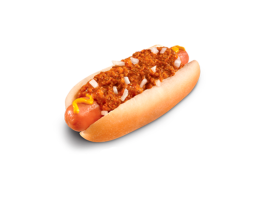 Hardee's Jumbo Chili Dog