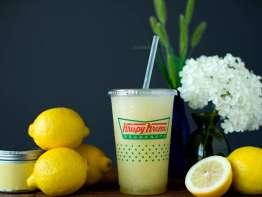 Krispy Kreme Icy cold Frozen Lemonade