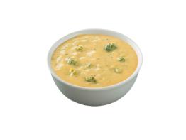Long John Silver's creamy broccoli cheese