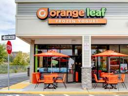Orange Leaf store