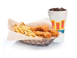 PDQ Fresh Tenders Meal