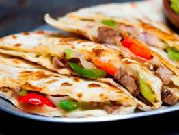 Pancheros Mexican Grill quesadilla