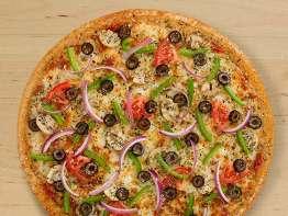 Peter Piper Pizza california veggie