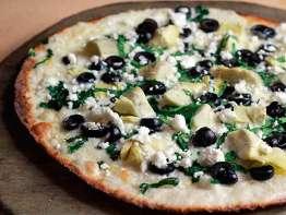 PizzaRev Mediterranean