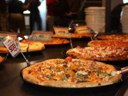 Pizza Ranch pizza