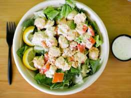 Quiznos Lobster and Seafood Salad