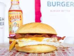 Smashburger burger