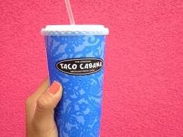 Taco Cabana drink