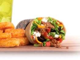 Taco Johns Super Burrito Combo