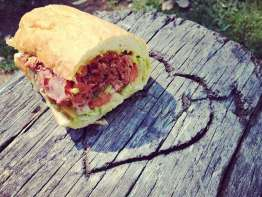 Togo's Pastrami Sandwich