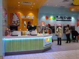 Tutti Frutti Frozen Yogurt store