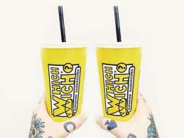 Which Wich shake