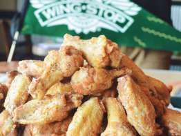 Wingstop Chicken Wing