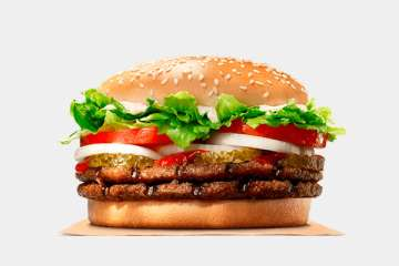 Burger King Double Whopper Sandwich