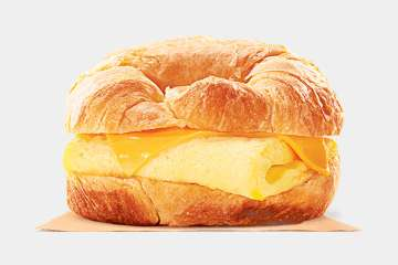 Burger King Egg & Cheese CROISSAN'WICH