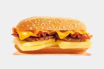 Burger King Supreme Breakfast Sandwich