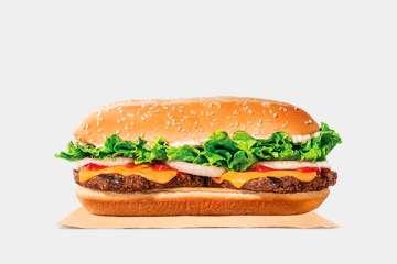 Burger King Extra Long Cheeseburger