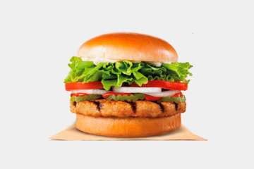 Burger King Flame Grilled Chicken Burger