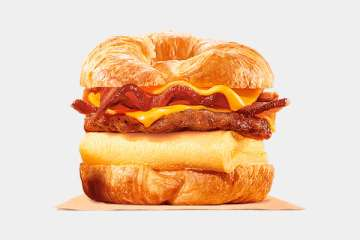 Burger King King CROISSAN'WICH with Sausage & Bacon