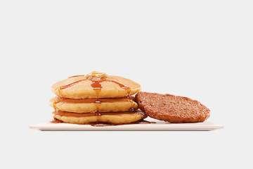 Burger King Pancakes & Sausage Platter