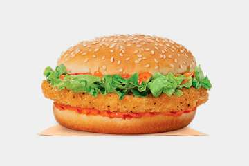 Burger King Spicy Crispy Chicken Jr.