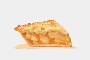 Burger King Dutch Apple Pie, Savoury, Sweet and Crumbly