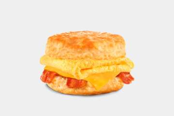Carl's Jr. Bacon, Egg & Cheese Biscuit