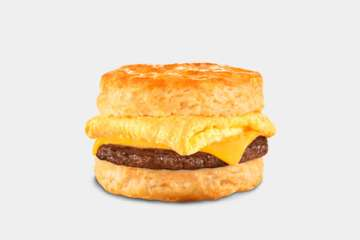 Carl's Jr. Sausage, Egg & Cheese Biscuit
