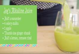 Joy's Green Alkaline Juice Recipe