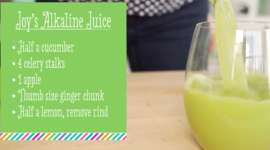 Joy's Green Alkaline Juice Recipe